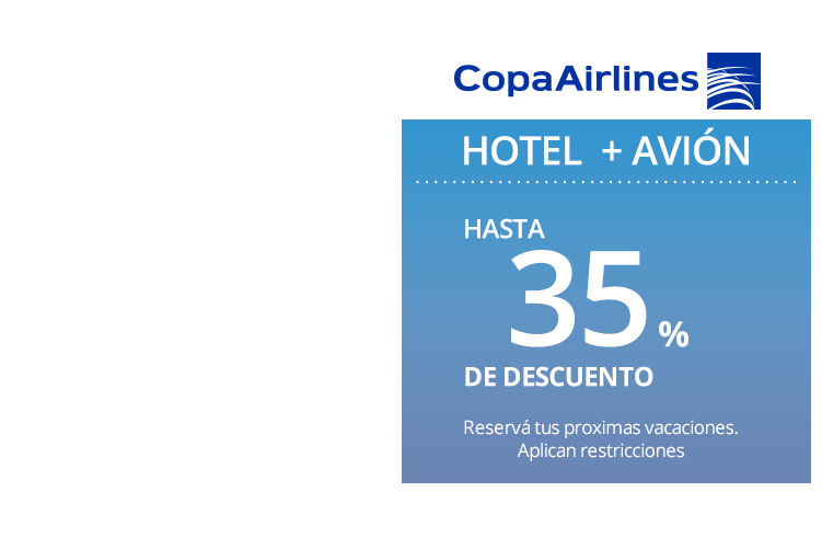 Copa Airlines Coupon go to enterenjoying.ml Total 22 active enterenjoying.ml Promotion Codes & Deals are listed and the latest one is updated on November 24, ; 1 coupons and 21 deals which offer up to $25 Off and extra discount, make sure to use one of them when you're shopping for enterenjoying.ml; Dealscove promise you'll get the best price on.