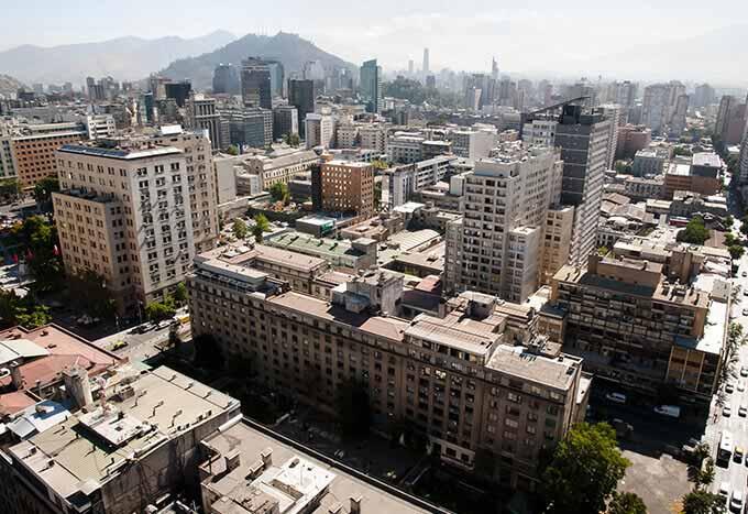 Vuelos a Santiago de Chile