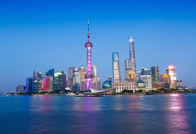 Vuelos a Shangai