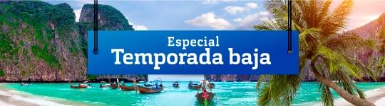 Especial TEMPORADA BAJA