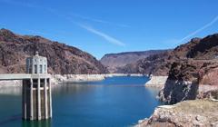 Presa Hoover y Lago Mead en Las Vegas