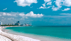 Las Playas en Miami Florida
