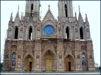 The Unfinished Cathedral in Michoacan