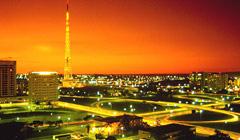 Vista panorámica de Brasilia
