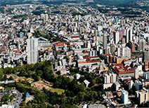 Vista panorámica de Caxias do Sul