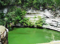 Sacred Cenote or Sinkhole at Chichen Itza