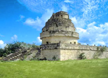 Observatory or El Caracol at Chichen Itza
