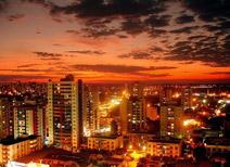Atardecer en Cuiabá