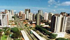 Vista panorámica de Curitiba