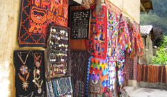 Shopping in Cusco, Peru