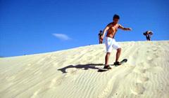 Sandboard en Florianópolis