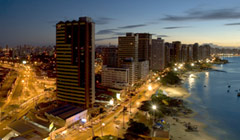 Nightlife in Fortaleza, Brazil