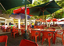Market Dining in Merida