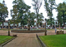Plaza Vasco de Quiroga in Patzcuaro