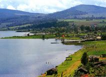 Lago de Zirahuén en Michoacán