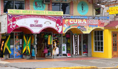 Shopping in Montego Bay, Jamaica