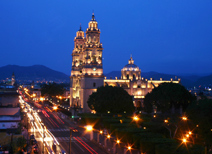 The Historic Center Morelia