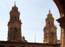 Palacio de Gobierno en Morelia