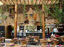 Restaurante Los Danzantes en Oaxaca