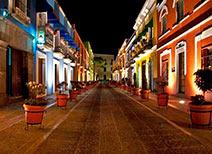 Plaza de los Sapos en Puebla