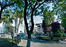 Plazuela de Santa Inés en Puebla