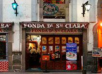 Fonda de Santa Clara en Puebla