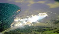 Vista de las Cataratas de Iguazú