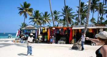 Shopping in Punta Cana, Dominican Republic