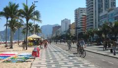 Copacabana en Río de Janeiro