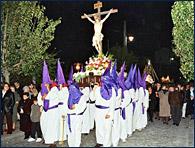 Procesión del Silencio en San Luis Potosí