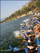 Valle de Bravo's Triathlon