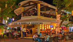 Dinning At Playa Del Carmen