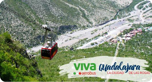 Vuelos A Guadalajara Por Viva Aerobus Baratos Bestday