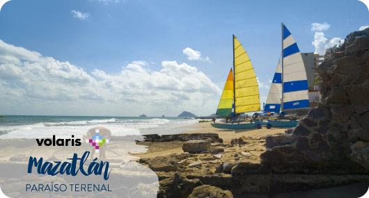 Vuelos a Mazatlán por Volaris | Más vuelos en BestDay