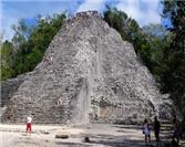Did you know that at Coba there is a pyramid taller than the one at Chichen Itza?