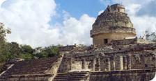 Principales construcciones en las ruinas mayas de chich n itz for Las construcciones de los mayas