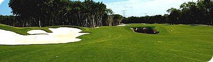 Campos de Golf Campo Golf Camaleon Mayakoba Cancún