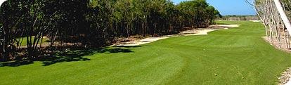 Campos de golf en la Riviera Maya