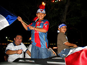 Atlante Fans in Cancun