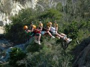 Canopy tours in Los Cabos