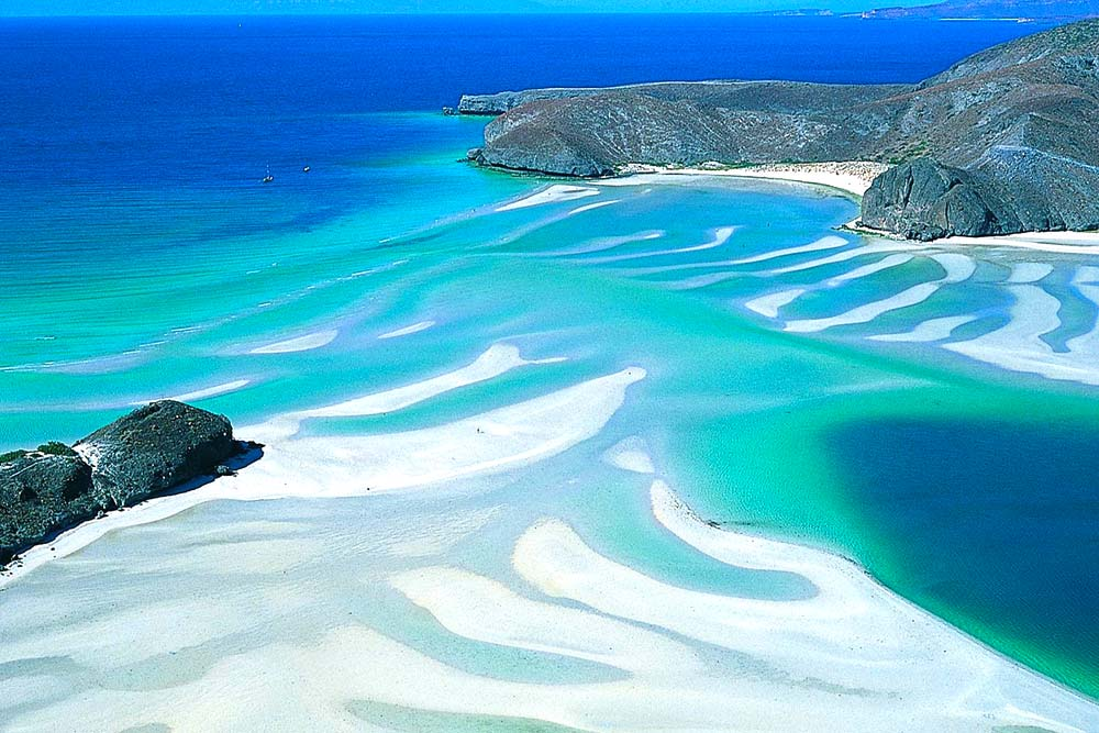 Balandra Beach In Baja California Sur