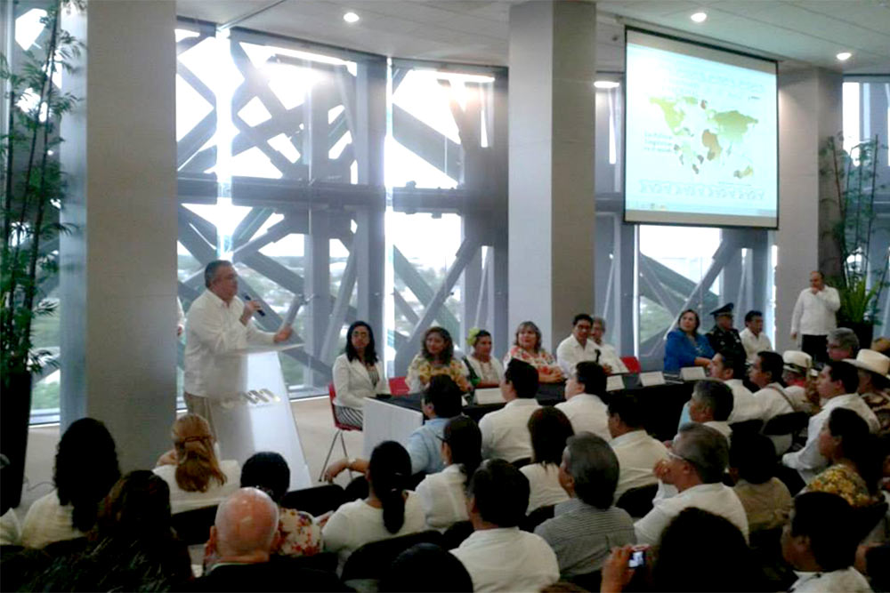 Conferences and symposiums on the Mayan universe