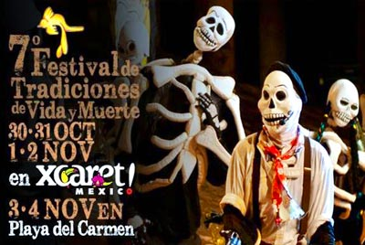 Festival of Life and Death Traditions at Xcaret