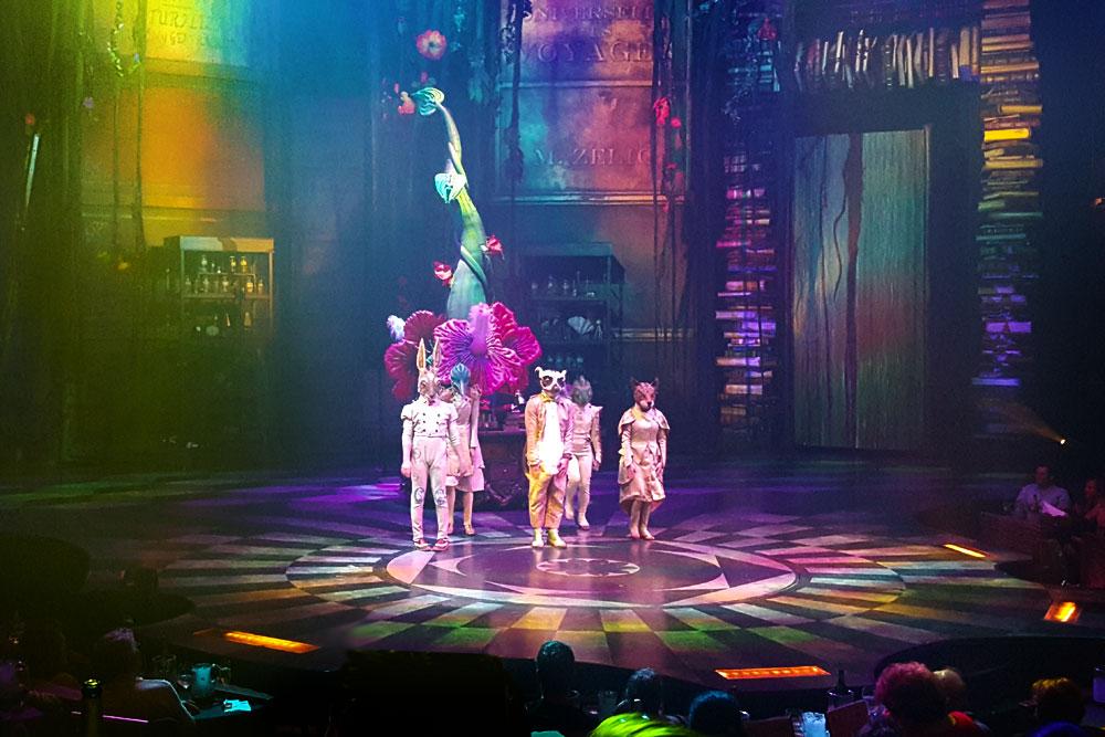 Joyà, La Perla de Cirque Du Soleil en la Jungla