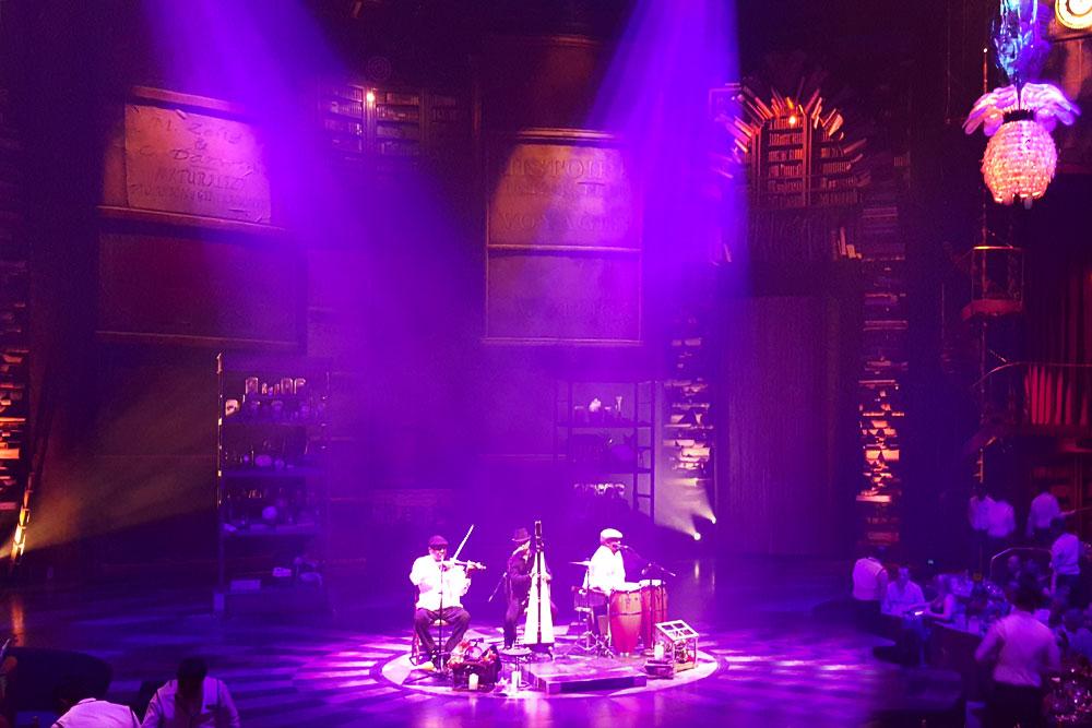 Teatro Cirque du Soleil en Riviera Maya