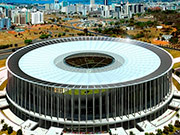Estadio Nacional in Brasilia