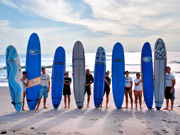 Surf Lessons in the Riviera Nayarit