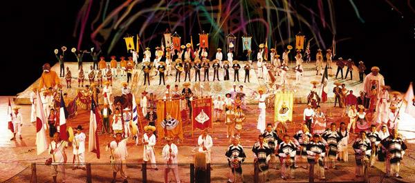 The Xcaret Night Show Mexico Espectacular