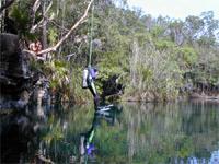 jump cenote
