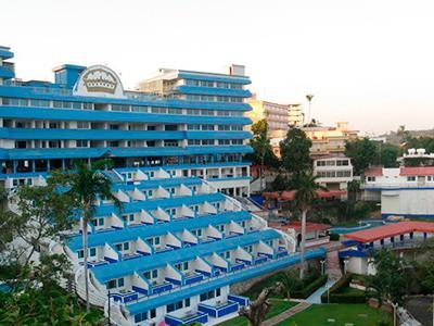 Mapa y ubicaci n de hotel aristos majestic acapulco for Hotel agrustos